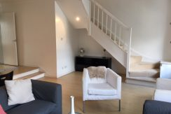 Living Room and Stairwell
